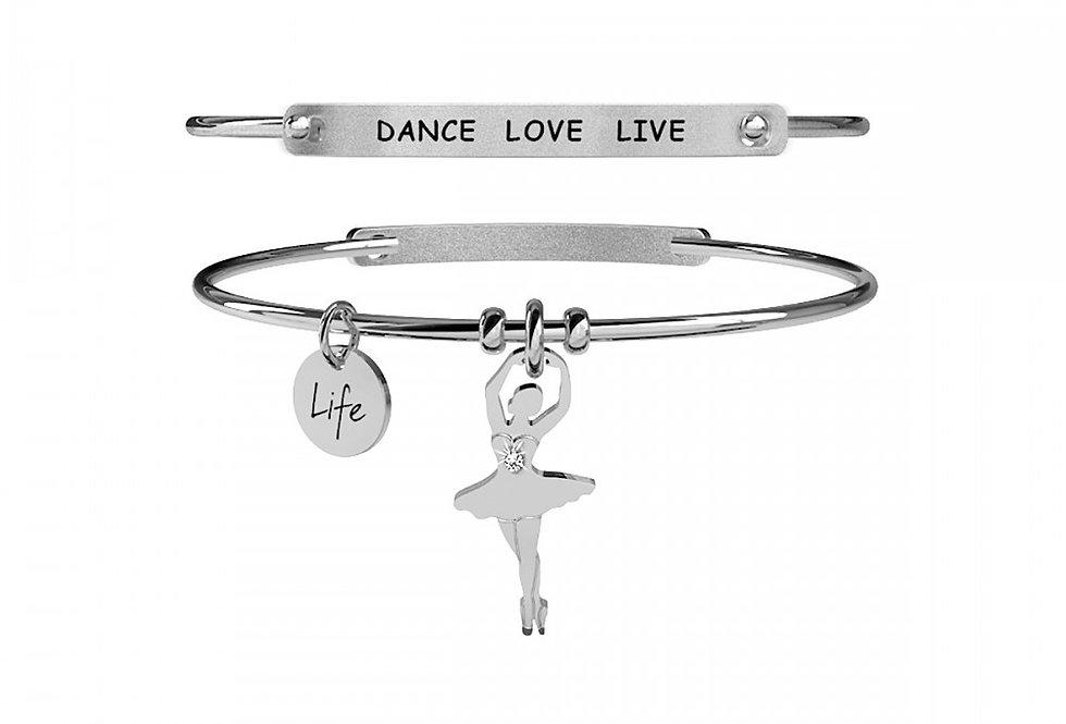 KIDULT bracciale  Free Time 231646 Ballerina -Sensualità