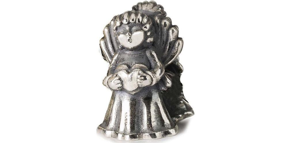 THUN by TROLLBEADS in argento angelo Grande amore - Io e te per sempre