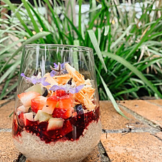 Wild Berry Chia Pudding