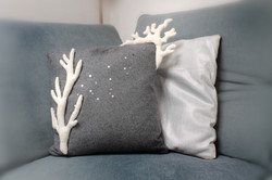 """Coussin """"Corail"""""""