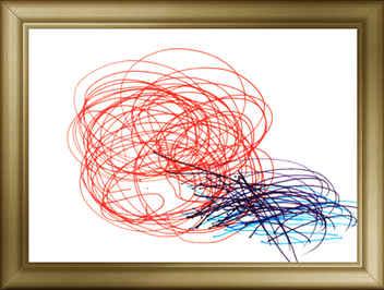 伊藤 弘隆 「楽しい雰囲気を絵にこめました。思いっきり描きました。」
