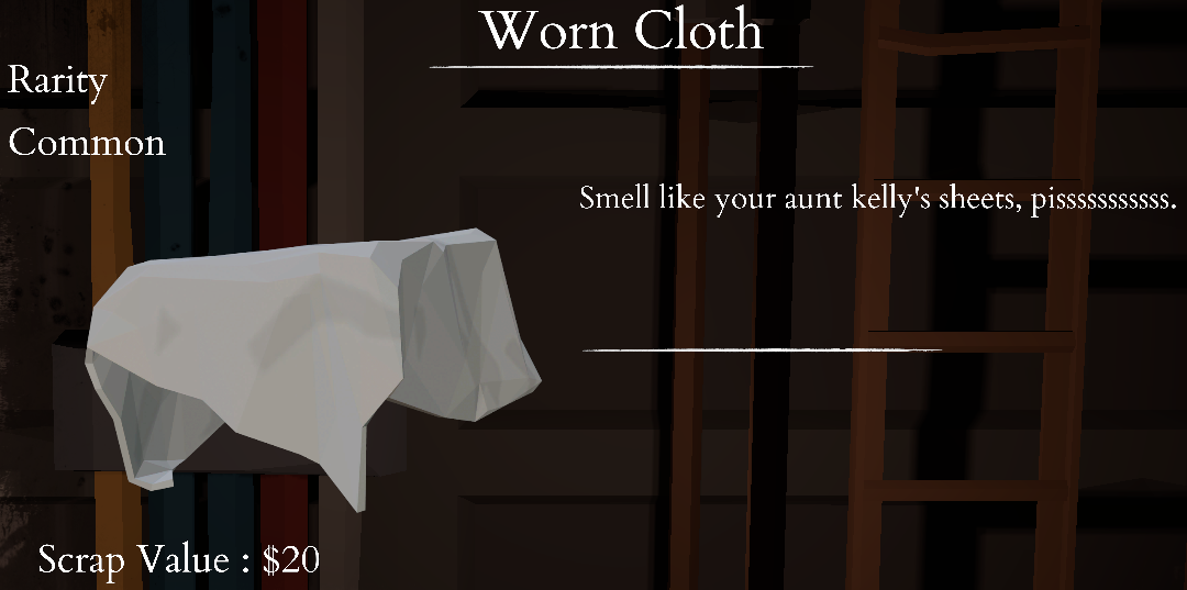 Worn Cloth
