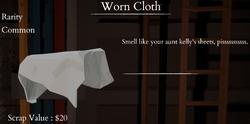 Worn Cloth