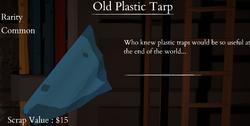 Old Plastic Tarp