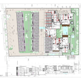 101A - Ground Floor Plan A0 COLOUR REV B