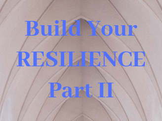 Your Next 4 Steps to Build your Resilience, Part II