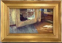 KarenMiller-CatinaQuandary-framed-pastel