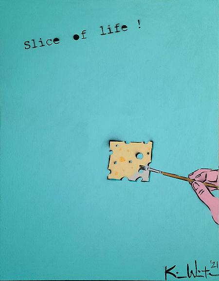 Kim Winter-Slice of Life-acrylic, spray