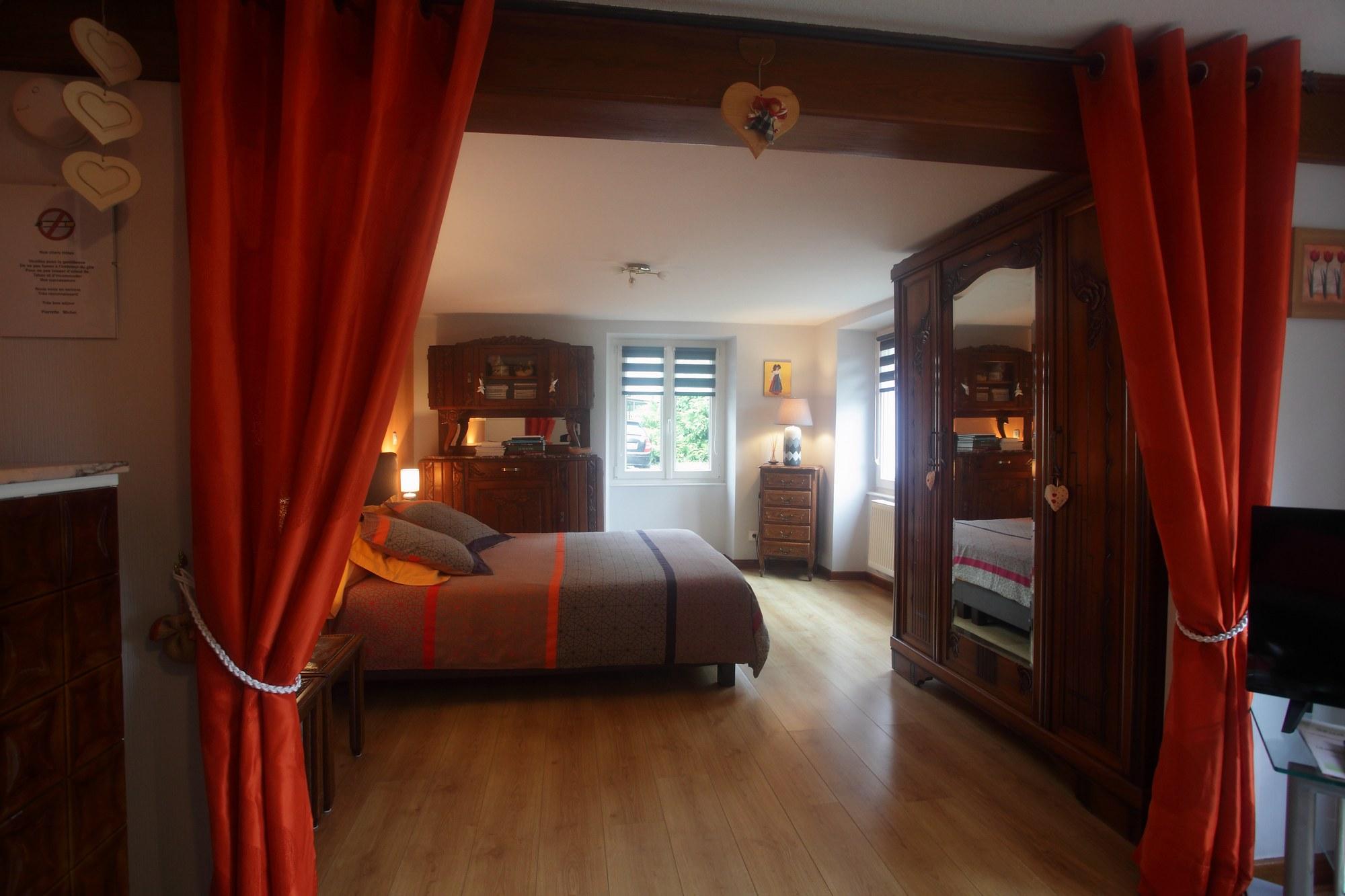 grande chambre ouverte