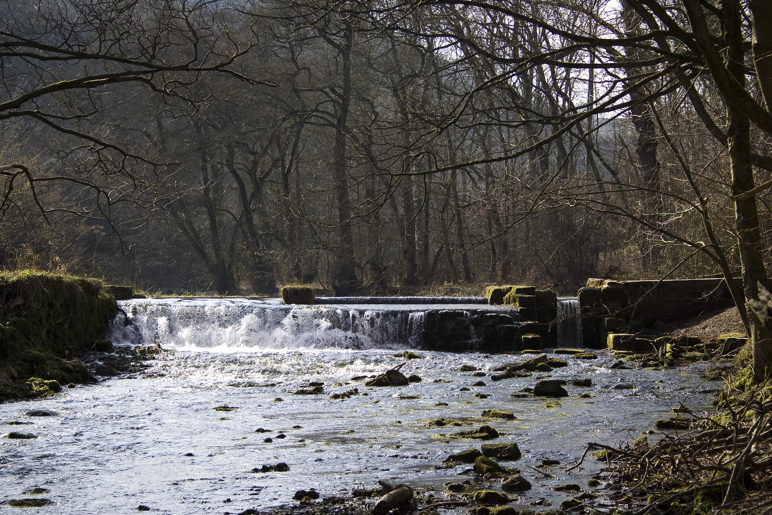 Lathkill Waterfall