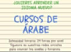 POSTER CURSOS DE ARABE .JPG