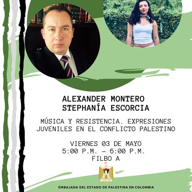 ALEXANDER MONTERO Y STEPHANÍA ESCORCIA