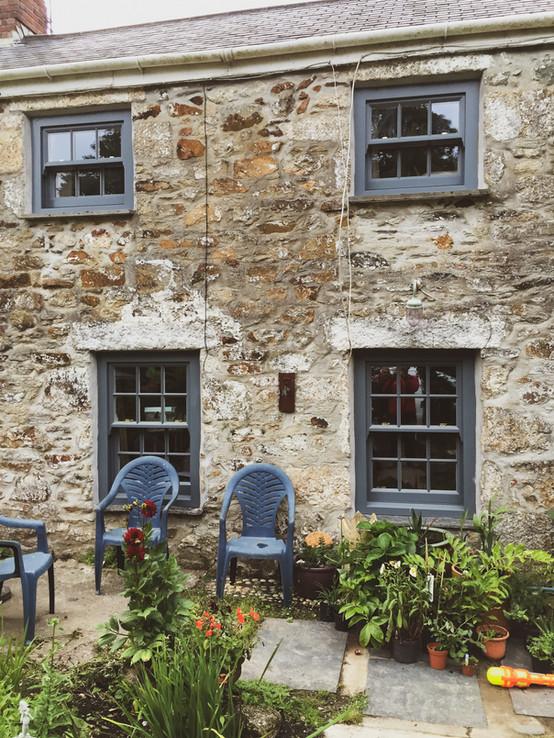 Sliding Sash Windows Handmade Cornwall