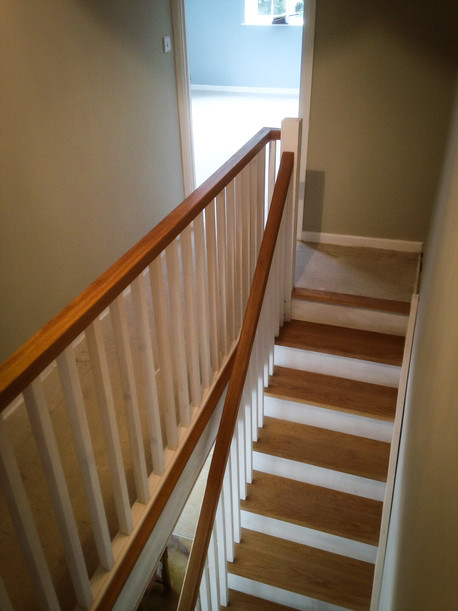 Handmade Bespoke Staircase & Handrail
