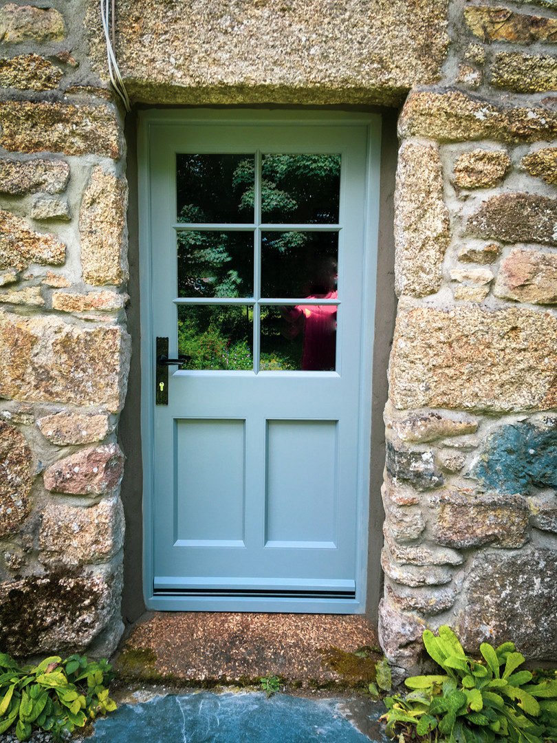 Handmade Bespoke Blue Door