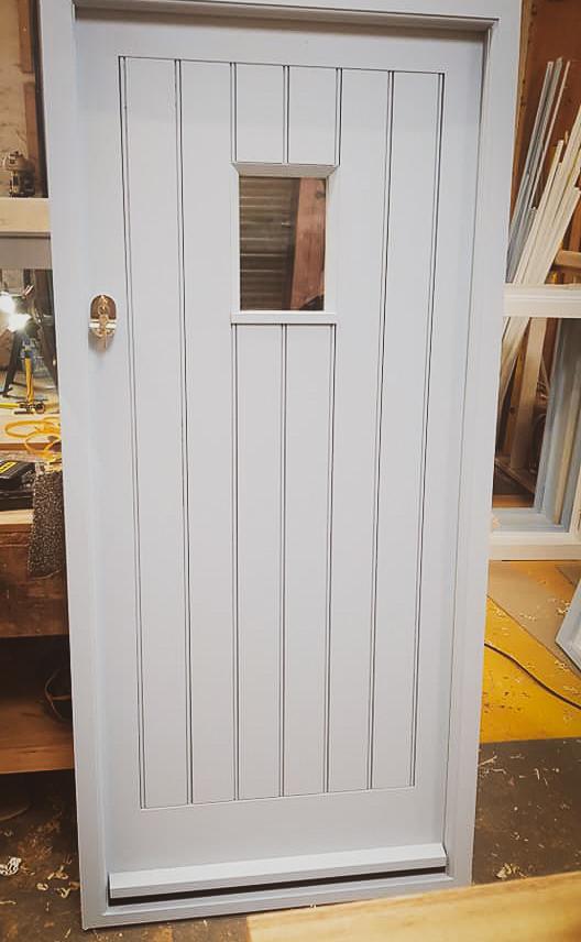 Handmade Bespoke Painted Door