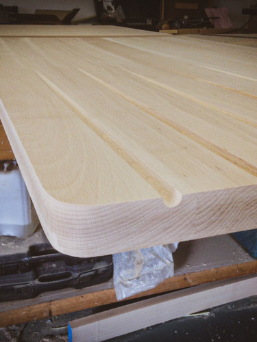 Kitchens : Custom Made Solid Wood Worktop