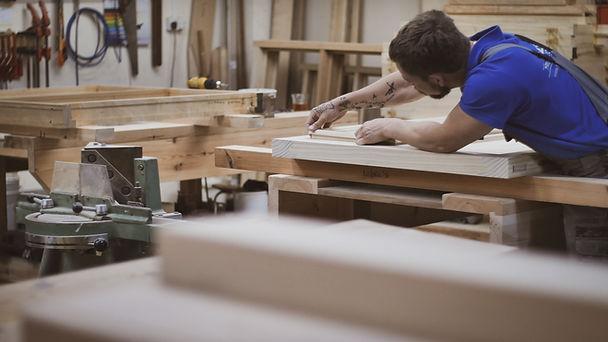 True Joinery Carpentry Cornwall Bespoke Handmade King Post Trusses