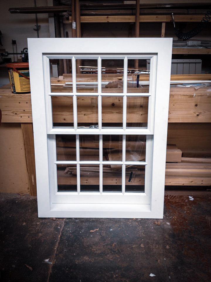 Sliding Sash Window Bespoke Handmade