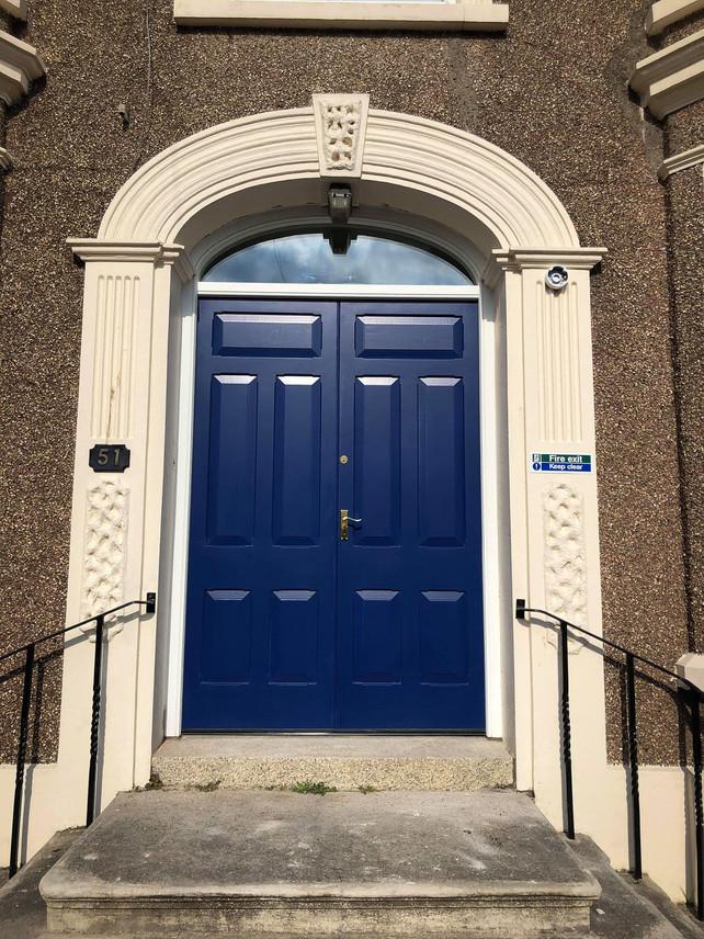 Handmade Bespoke Blue Doors