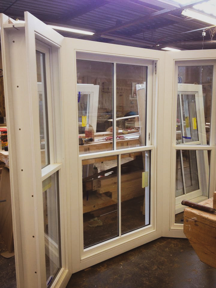 Traditional Bay Window Sliding Sash Handmade Bespoke