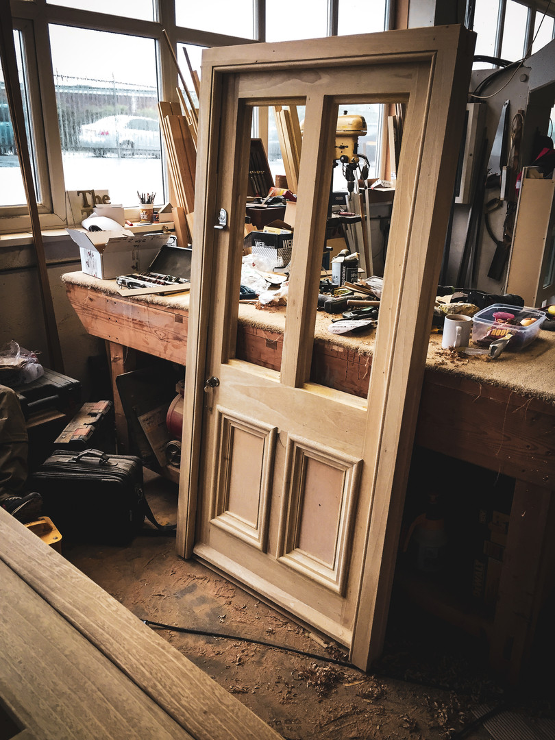 Handmade Bespoke Door Oak Framing