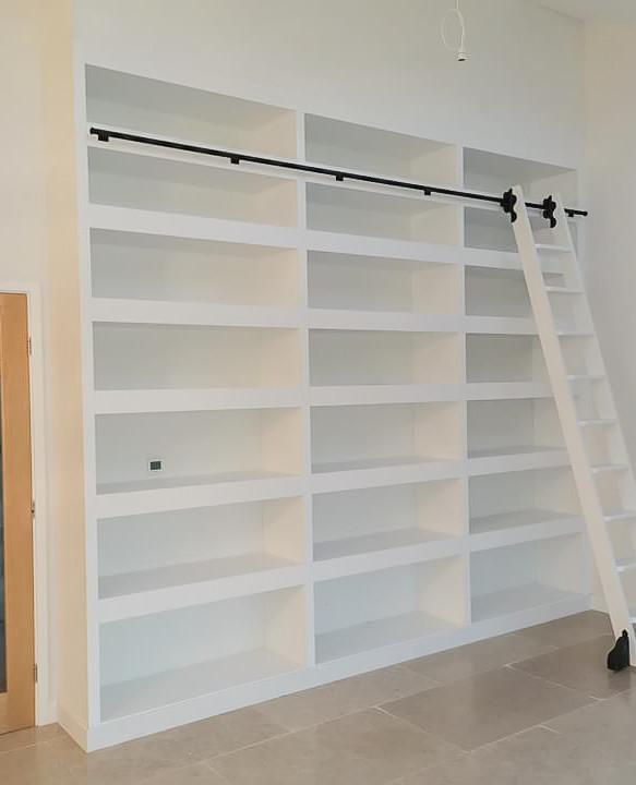 Handmade Bespoke Furniture : Bookshelves & Shelving