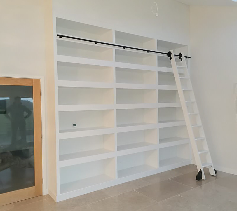 Handmade Bespoke Furniture : Bookshelves & Shelving