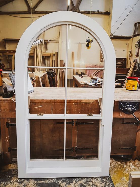 Bespoke Handmade Heritage Arch Window