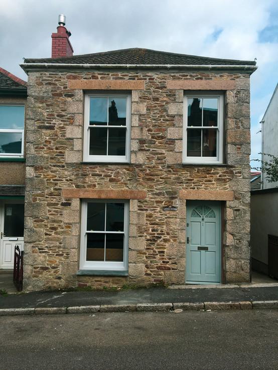 Handmade Bespoke Door and Sliding Sash Window