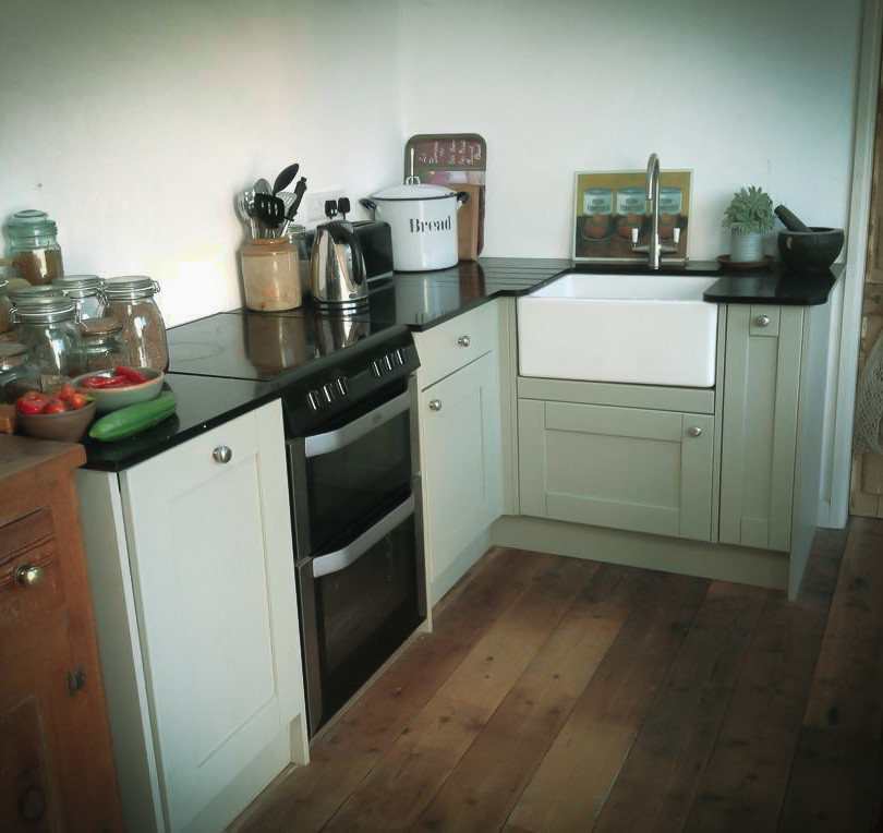 Bespoke Handmade Kitchens Sage Green