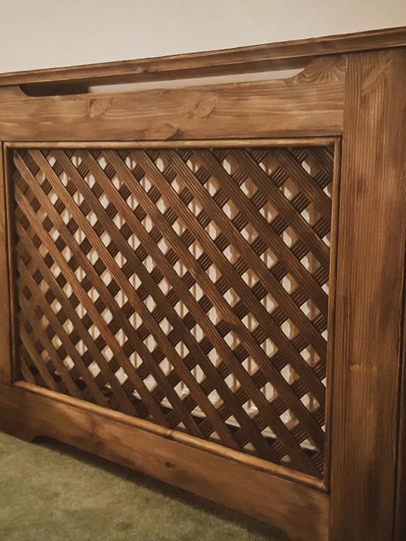 Bespoke Handmade Furniture : Radiator Cover