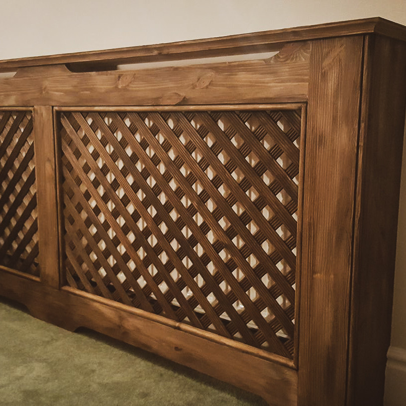 Bespoke Handmade Furniture : Radiator Cover