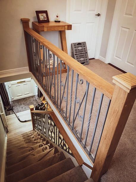 Handmade Bespoke Staircase and Handrail