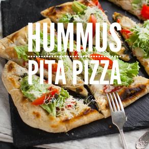 Hummus Pita Pizza