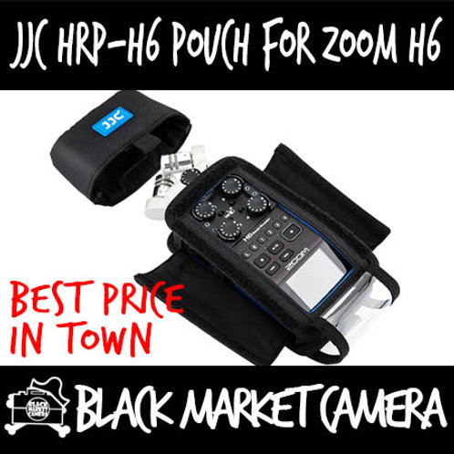 JJC HRP-H6 Handy Recorder Pouch for ZOOM H6