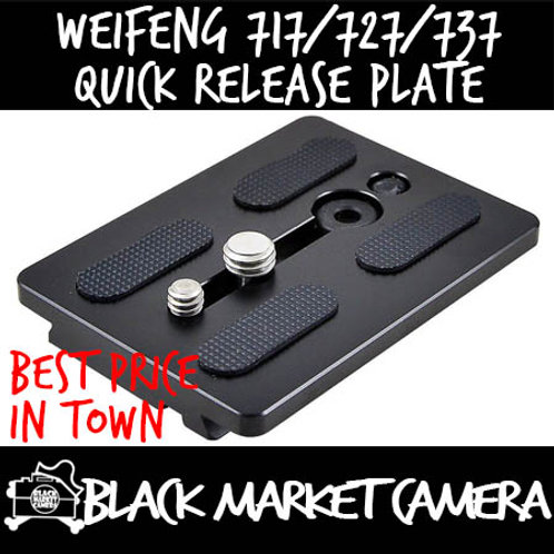 Weifeng 717/727/737 Quick Release Plate