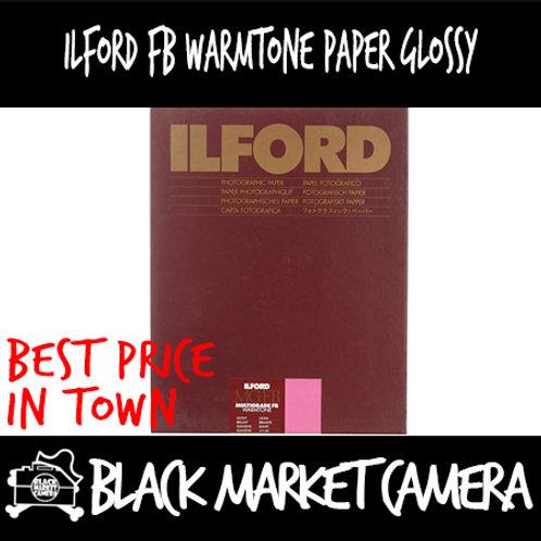 "Ilford Multigrade FB Warmtone Glossy (5"" x 7"") 100pcs"