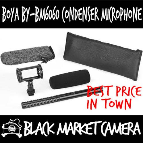Boya BY-BM6060 Super Cardioid XLR Condenser Microphone