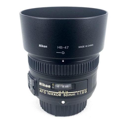 *SOLD* Nikon AFS 50mm F1.8G (used)