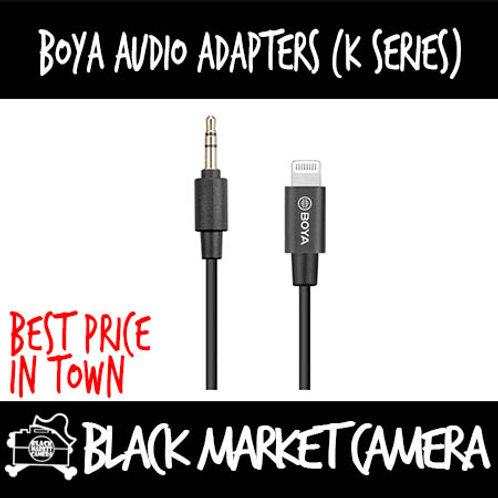 Boya BY-K1/K2/K3/K4/K5/K6 Audio Adaptor