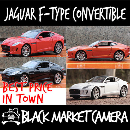 Welly 1:24 Jaguar F-Type Convertible Car Model