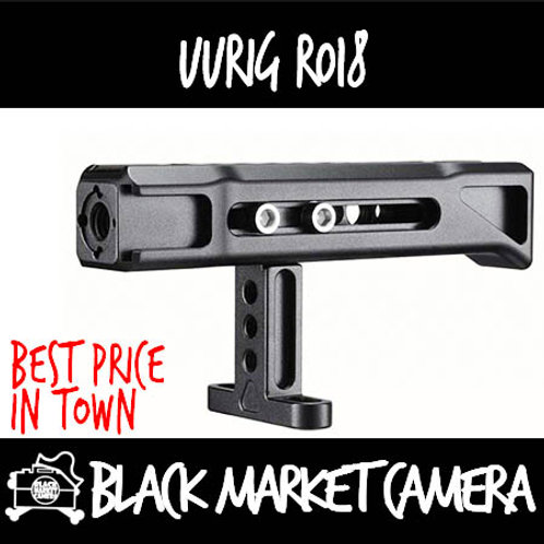 UURig R018 Camera Cage Chute Top Handle (1/4-20 Mount)