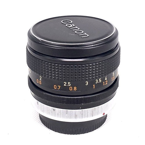Canon FD 50mm F1.4 (used)