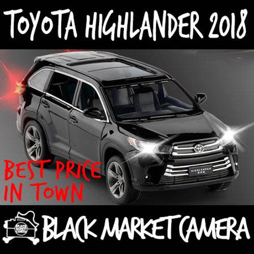JackieKim 1:32 Toyota Highlander 2018 Diecast Car Model