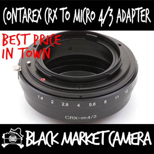 Contarex CRX Lens to Micro 4/3 Body Adapter