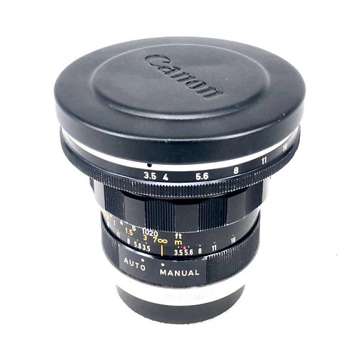 Canon FL 19mm F3.5 R (used)