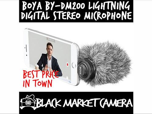 BOYA-DM200 Lightning Digital Stereo Microphone