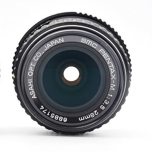 Pentax SMC-M 28mm F3.5 PK Mount (Used)