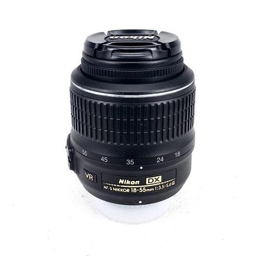 Nikon AFS 18-55mm F3.5-5.6G ED SWM VR DX (used)